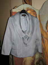 Escada Blue 3/4 length sleeve silk jacket - Size 40