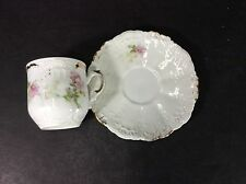 Beautiful Vintage Weimar Germany Porcelain Cup & Saucer