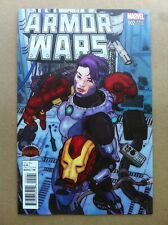 ARMOR WARS #2 VICTOR IBANEZ 1:25 VARIANT COVER NEAR MINT FIRST PRINT SECRET WARS