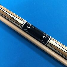 NEW Jacoby pool cue tiger striped maple, ebony, elforyn, Edge Hybrid shaft+ Case