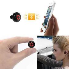 Mini Wireless Bluetooth Stereo In- Ear Micophone Earphone Headphone Easy Sports