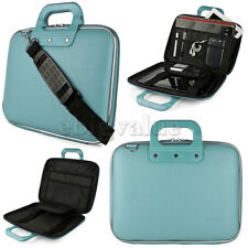"Fashion Blue Cady Laptop Bag Carry Case for Samsung Series 9 15""/15.6"""
