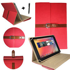 10.1 zoll Tablet Tasche Hülle Etui - Acer Iconia Tab A200 - Stylisch Rot 10