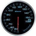 DEFI LINK METER ADVANCE BF OIL TEMP GAUGE 60MM DF10403 -BLUE