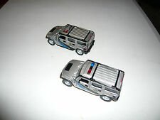 Code 3 State Trooper Hummers PAIR! Good Standard 1;43? Great Condition.