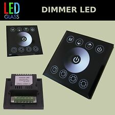 LED Dimmer Controller für Wandeinbau Touch-Pad , Farbe - schwarz