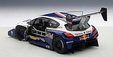 Autoart PEUGEOT 208 T16 PIKES PEAK WINNER 2013 RED BULL LOEB #208 1/18 In Stock!