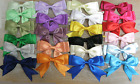 5x 95mm approx Large Double Bows Satin Ribbon Bows With Tails  4