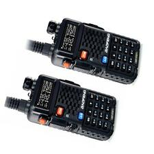 2 Piece BaoFeng BF-F8+ Dual Band V/UHF 136-174MHz&400-520MHz Ham Two-way Radio