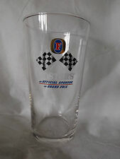 FOSTERS LIMITED EDITION GRAND PRIX PINT LAGER BEER GLASS