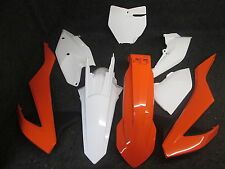KTM SX/SXF 125-450 2016 X-FUN std oem colours complete full plastic kit PK4005