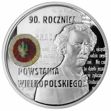 10 ZL Polonia 2008 plata 90th anniversary of the Greater Poland uprising