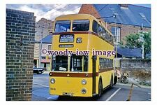 gw0134 - Bournemouth Trolleybus YLJ 282 on Turntable in 1962 - photograph