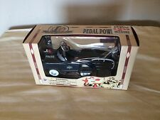 DIE CAST METAL PEDAL POWER 1:10 SCALE  POLICE