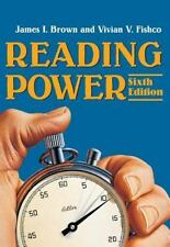 Reading Power by Vivian V. Fishco and James I. Brown (2001, Paperback)