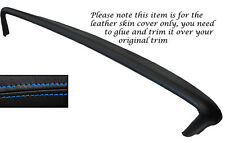 BLUE STITCH TOP DASH DASHBOARD LEATHER SKIN COVER FITS PONTIAC BONNEVILLE 1967