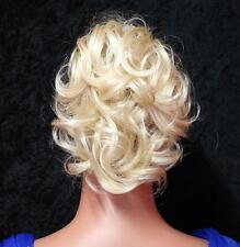 HAARGUMMI HAARTEIL HELL BLOND PLATIN BLOND K01 Scrunchie Hair Piece  blonde wig