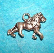 Pendant Lion Charm Wizard of Oz Charm Cowardly Lion Circus Animal Zoo Animal Cat