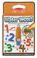 Melissa and Doug Water Wow! Number Themed #5399 new