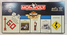Monopoly HARLEY DAVIDSON Live to Ride Edition BOARD GAME w/ 6 Pewter Tokens 100%