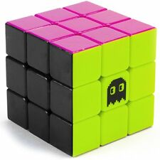 3 x 3 Stickerless Neon 80s Mod Puzzle Cube Engineered for Speed by Brybelly NEW