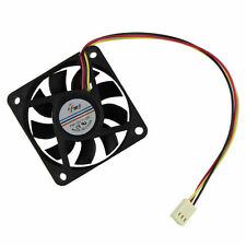 Brushless 60mmX60mm 12V CPU Computer Case Cooling Fans 3 Pin Molex Connector