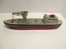 S S SILVER MARINER CARGO SHIP BATTERY OPERATED GOOD CONDITION WORKS GOOD JAPAN