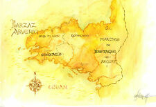 peinture originale durandal signé Gwendal lemercier