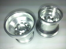 vintage alloy wheel for tamiya TLT-1 Rockbuster Farm King wheelie WR-02G (2pcs)
