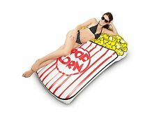 NEW Giant Popcorn Pool Float Swimming Inflatable Party Over Five Feet Long Wow!