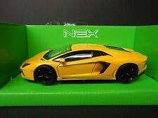 Welly Lamborghini Aventador LP700 Yellow 1/24