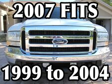 Ford CHROME Grille CONVERSION Fits 99-04 Super Duty 07 F250 F350 (Fits: F-250 )