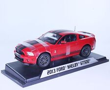 TC76 New Ford Mustang GT500 Shelby Coupe Red Black 1:18 1/18 Diecast Model Car
