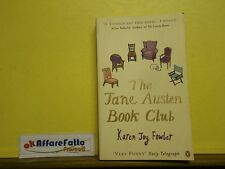 L 5.183 LIBRO THE JANE AUSTEN BOOK CLUB DI KAREN J FOWLER 2005