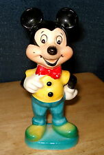 Vintage Walt Disney Mickey Mouse Porcelain Figurine dated 1960 Free US Shipping