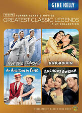 Gene Kelly 4 Movies On DVD. TCM Greatest Legends. Scratch Free Discs. Free Ship