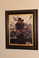 Stevie Ray Vaughan Last Outdoor Show in El Paso, Texas Live Concert Photo