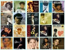 DIONNE WARWICK RECORD ALBUMS,  20 PHOTO FRIDGE MAGNETS