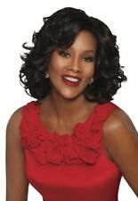 Leona Vivica A Fox Wig Roller Set Lace Front Synthetic Hair Full Cap New