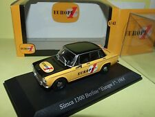 SIMCA 1300 BERLINE EUROPE 1 1968 UNIVERSAL HOBBIES 1:43