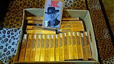 HAVE GUN WILL TRAVEL**RICHARD BOONE** VHS TAPES Lot of 24 (96 EPISODES) 1950's
