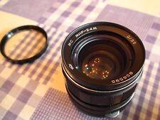 Vintage rare MIR 24M prime lens Fixed 35mm excellent condition