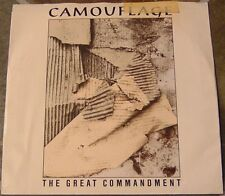 "45 RPM By Camouflage, ""The Great Commandment"" on Atlantic With Picture Sleeve"