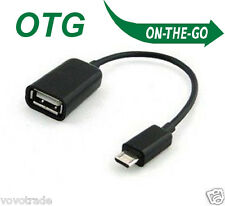 USB 2.0 A Female to Micro B Male Adapter Cable Micro USB Host Mode OTG Cable