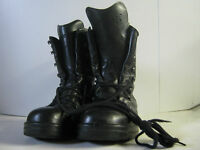 German Army Para Boots Black Leather Thick Padded Comfortable Military Combat