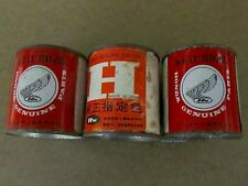 Vintage Antique Honda Motorcycle Paint NOS 3 Cans
