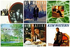 6 new KIM WATERS CD LOT You Are Not Alone,Peaceful Journey,Christmas,Sax Appeal+
