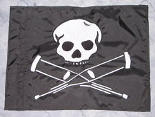 Custom JACKASS Skull Safety Flag for JEEP ATV UTV dirtbike Dune Whip Pole