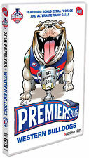 AFL 2016 Grand Final Premiers Western Bulldogs v Sydney Swans DVD