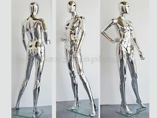 Plastic Durable Manequin Female Mannequin Display Dress Form #PS-SF15SCEG